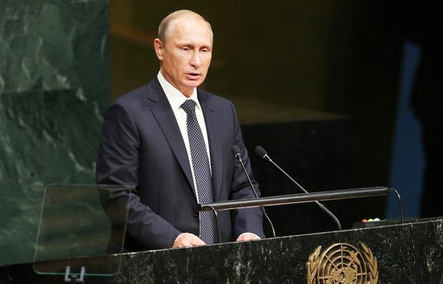 Новости 28.09.2015. Выступление Владимира Путина на 70-й сессии Генассамблеи ООН. Ключевые заявления