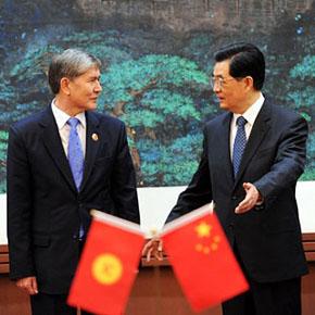 Алмазбек Атамбаев и Ху Цзиньтао открывают новую страницу в истории Центральной Азии