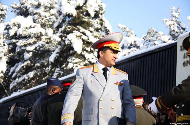 генерал-майор Назаров Абдулхалим Мирзоевич (Халим Назарзода)