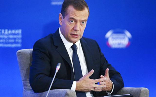 Новости 03.10.2015. Медведев отверг экономическую подоплеку действий России в Сирии