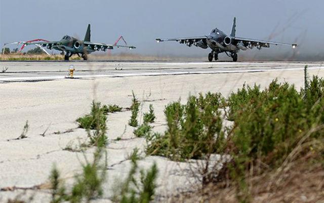 Российская авиационная группа, размещенная на аэродроме Хмеймим в Сирии: ТАСС.
