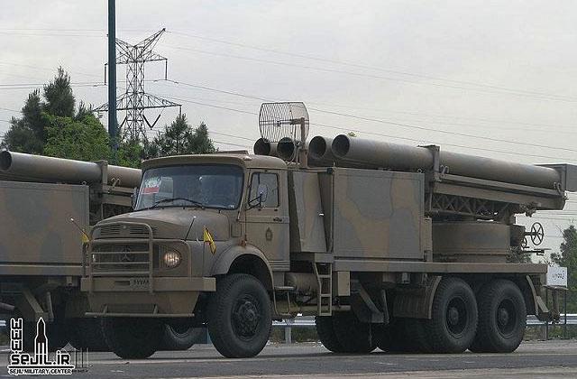 Иранский 333 мм РСЗО Фаждр-3: ЖЖ Юрия Лямина