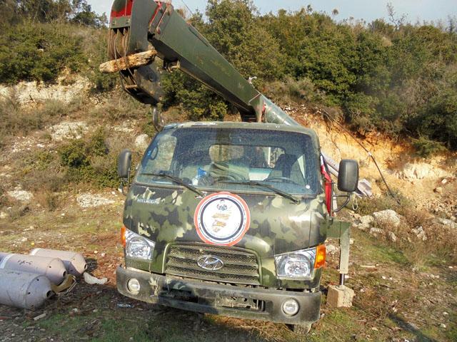 Ракетная установка вооруженной милиции «Соколы пустыни»