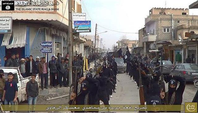 Центр ИГИЛа в Сирии Эр Рака: www.iimes.ru