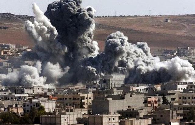 Бои в Кобаны в июне 2015 года между курдами и ИГИЛ