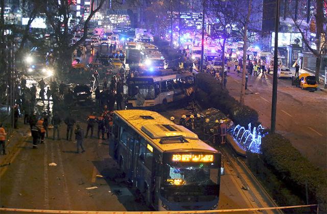 Новости 13.03.2016. Число жертв взрыва в Анкаре увеличилось до 32 человек