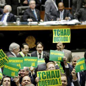 Новости 18.04.2016. Палата депутатов одобрила импичмент президенту Бразилии