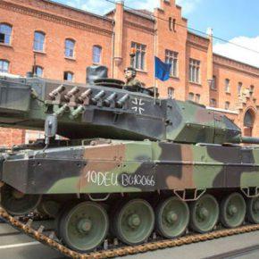 СВОБОДНАЯ ПРЕССА. Немецкий Leopard берет «Армату» на прицел. В Германии разработали пушку против новейшего российского танка Т-14