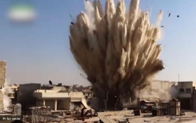 ИА «Народные новости». Эксперт: ВКС РФ приняли верное решение ударив по ИГ в районе Пальмиры