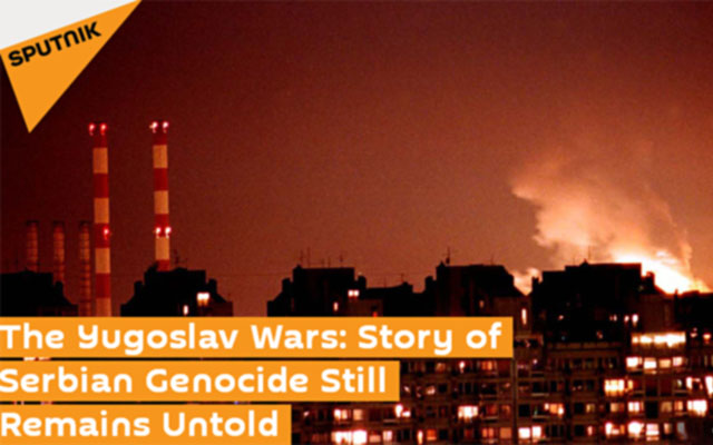 SPUTNIK. The Yugoslav Wars: Story of Serbian Genocide Still Remains Untold