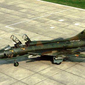 50 лет со дня первого полета истребителя – бомбардировщика Су-17 с изменяемой геометрией крыла