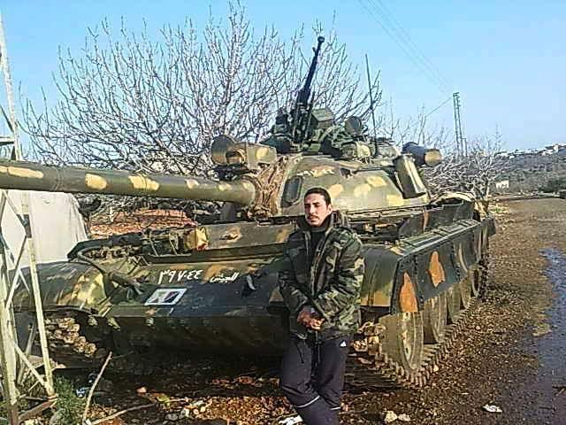 Капитан Али Джабер Эль Раиди, уроженец села Кардаха под Латакией (16 апреля 1989 года) - 2