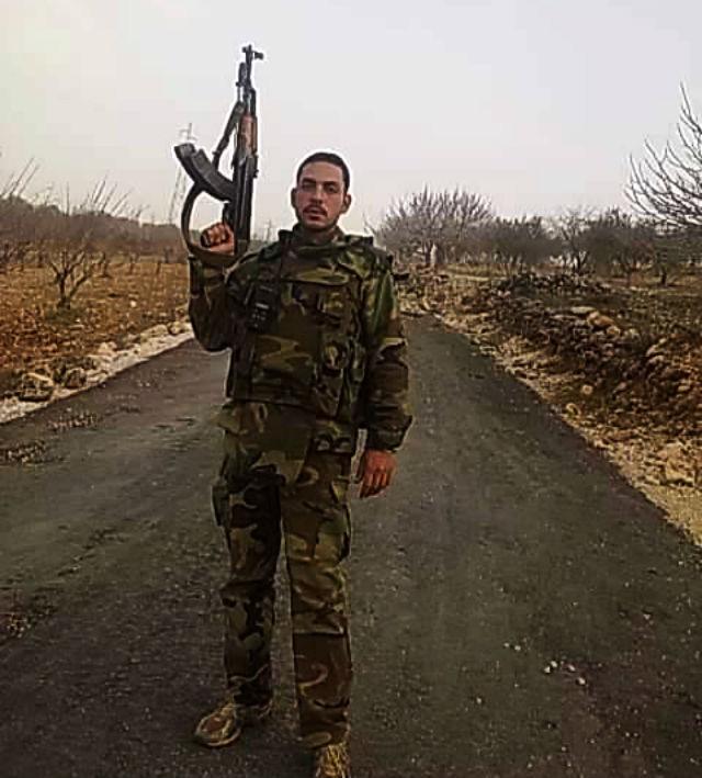 Капитан Али Джабер Эль Раиди, уроженец села Кардаха под Латакией (16 апреля 1989 года) - 3