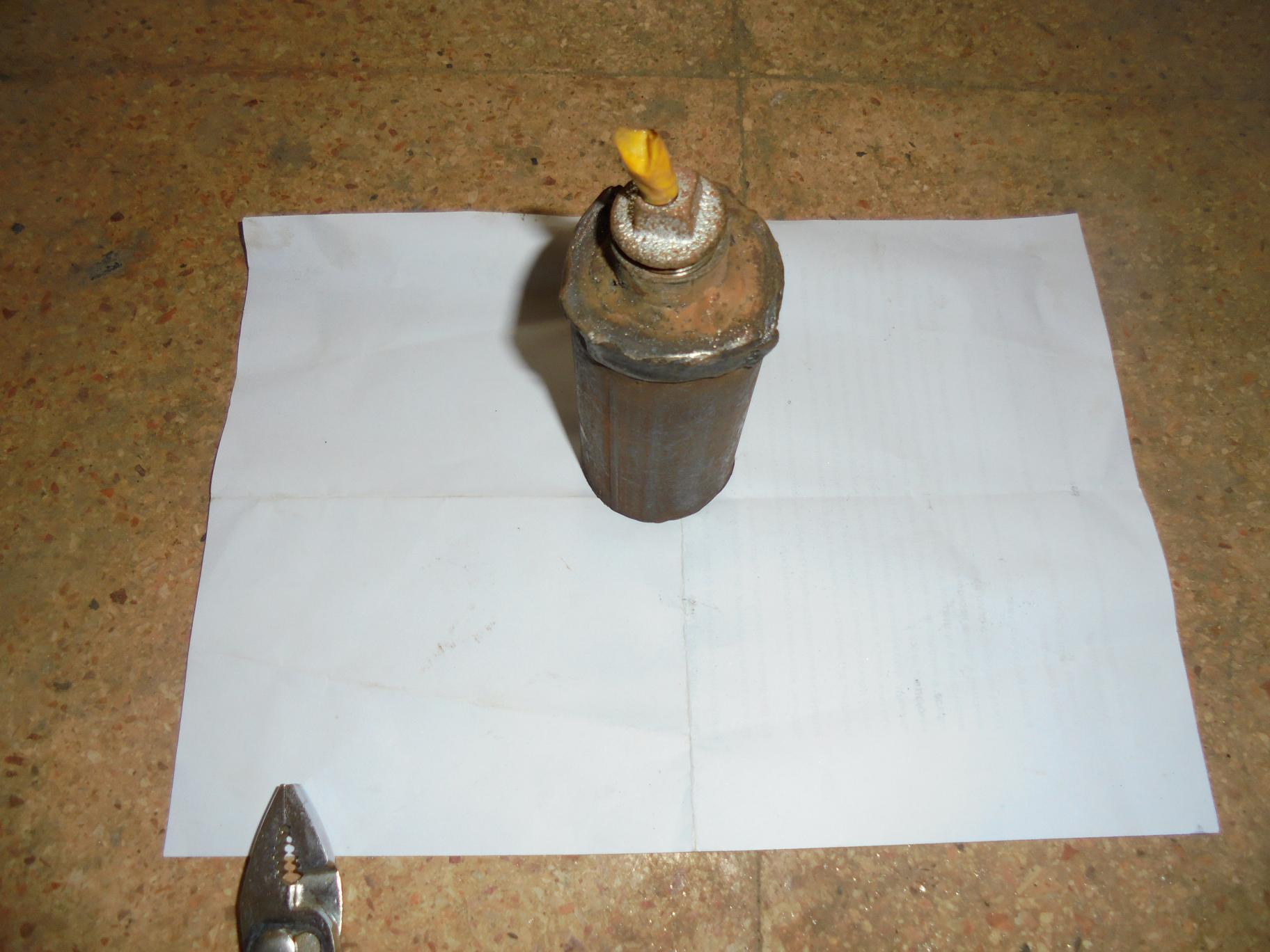 СИРИЯ. Самодельные ручные гранаты захваченные в поселке Кинсаба - 2