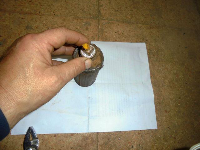 СИРИЯ. Самодельные ручные гранаты захваченные в поселке Кинсаба - 3