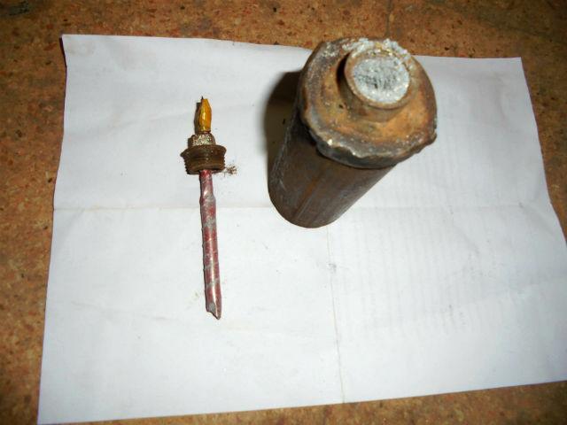 СИРИЯ. Самодельные ручные гранаты захваченные в поселке Кинсаба - 4