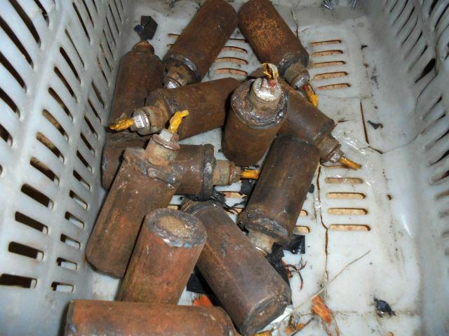 СИРИЯ. Самодельные ручные гранаты захваченные в поселке Кинсаба