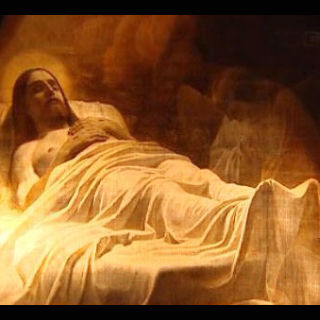 КАРТИНА: Брюлов К. Христос во гробе. 1840