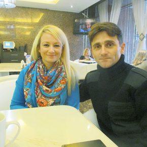 Деян Берич и Драгана Трифкович: Интервью сербского добровольца на Донбассе