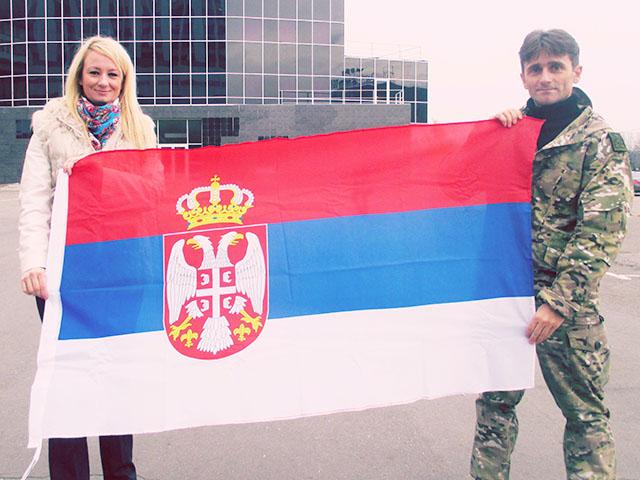 Деян Берич и Драгана Трифкович: Интервью сербского добровольца на Донбассе - 4