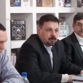 ИЗБОРСКИЙ КЛУБ. Дмитрий Муза презентовал новую книгу в ДНР