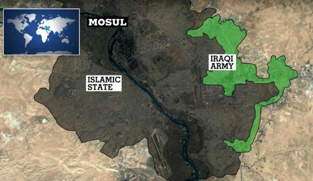 СИРИЯ. Операция в Мосуле затягивается