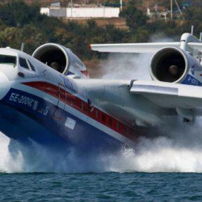 ОАК. ТАНТК передал МЧС России первый серийный самолет Бе-200ЧС