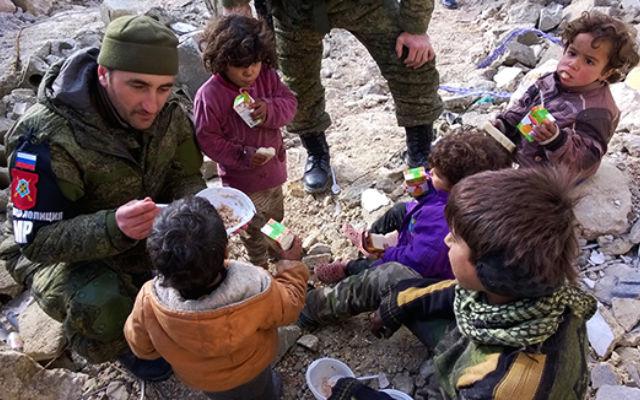 ИЗВЕСТИЯ. Российские военные полицейские наведут порядок в Сирии