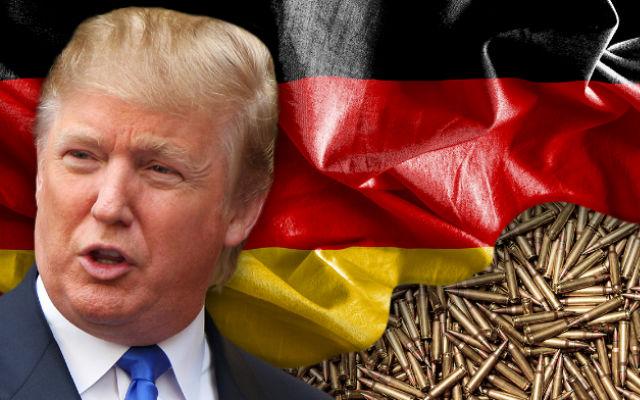 ТВ ЦАРЬГРАД. Немцы против военной директивы Трампа.  ФРГ не хочет наращивать военные расходы американскими темпами