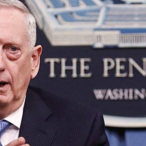 ТВ ЦАРЬГРАД. Глава Пентагона скрывает истинные цели США в Йемене.  Джеймс Мэттис говорит о мире, но готовится к войне
