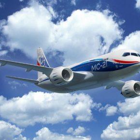 ОАК. Новый пассажирский лайнер МС-21-300 совершил первый полет
