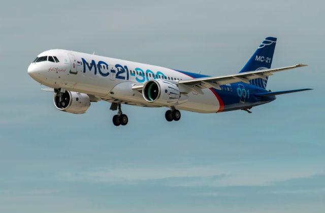 ФОТО: MC-21-300 в полете