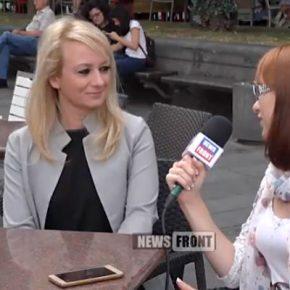 НОВОСТНОЙ ФРОНТ. Драгана Трифкович: заявление посла США – обычная антирусская пропаганда