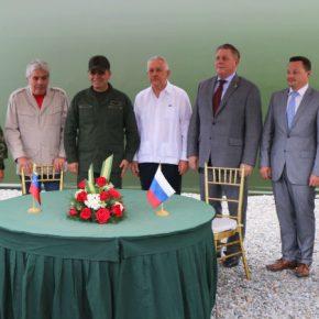 РОСОБОРОНЭКСПОРТ передал Венесуэле мобильные сервисные комплексы для ремонта военной техники