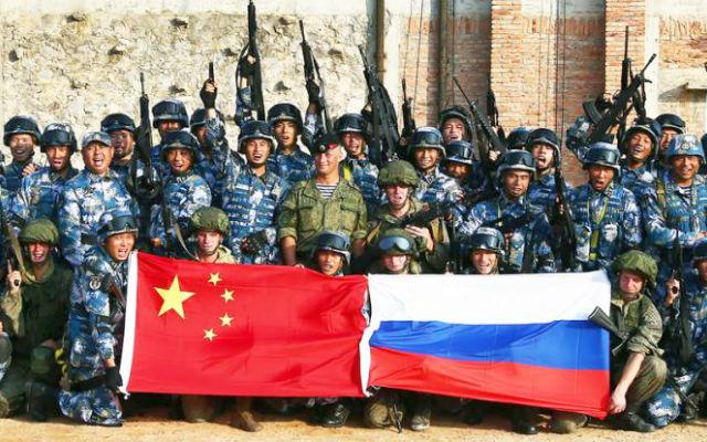СВОБОДНАЯ ПРЕССА. Россия и Китай оккупируют Британию за несколько недель. В Лондоне опасаются вторжение «диких орд» с Востока