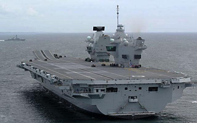 РИА НОВОСТИ. Военный эксперт оценил неисправность крупнейшего корабля ВМФ Великобритании
