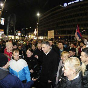 EURAZIA Daily. В Сербии прошли многотысячные протестные акции