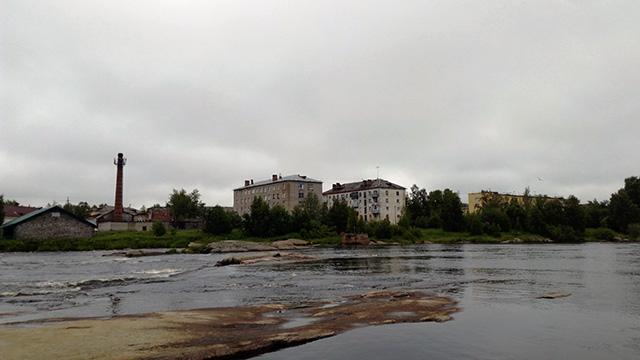 Беломорск. Заводская сторона