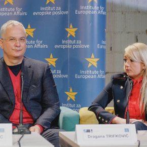 """""""Центар за геостратешке студије"""". Драгана Трифковић на ЕУ дебати """"Колико су грађани безбедни?"""""""