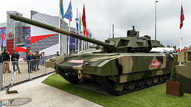 «СЛОВО и ДЕЛО». Танк Т-14 «Армата» значительно превосходит все другие танки по огневой мощи