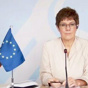 Разговор са немачком министарком одбране, Анегрет Крамп-Каренбауер