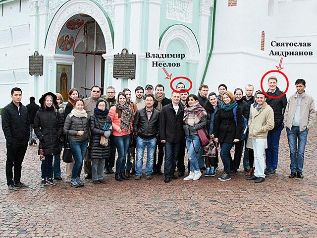 Эксперт Владимир Неелов и ПРОВОКАТОР Святослав Андрианов в международной школе ПИР-центра, октябрь 2014 года