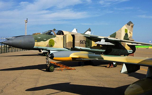 Эксперт Пономаренко оценил потенциал отремонтированных ЛНА МиГ-23