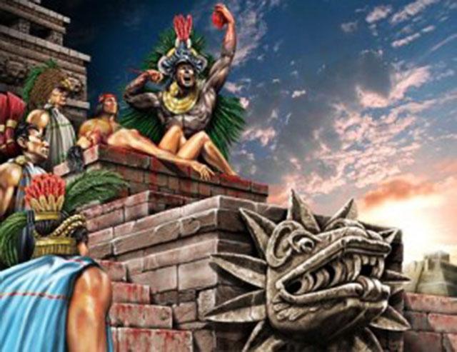 """Валецкий О.В. """"О человеческих жертвоприношениях в Мезоамерике"""" - 2"""
