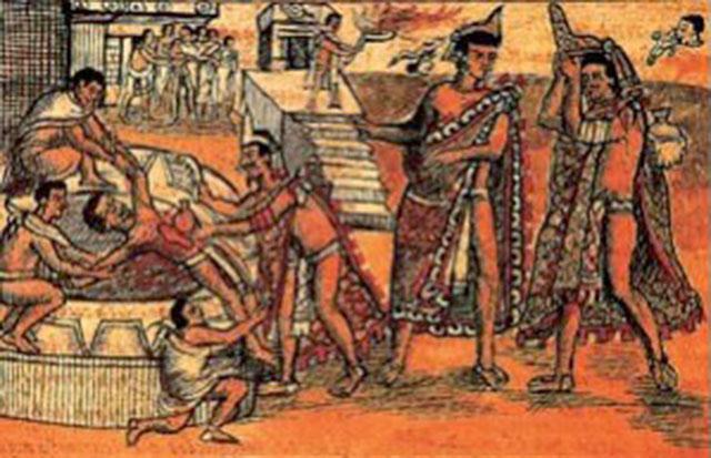 """Валецкий О.В. """"О человеческих жертвоприношениях в Мезоамерике"""" - 8"""