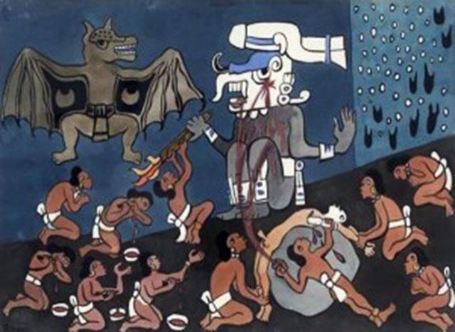 """Валецкий О.В. """"О человеческих жертвоприношениях в Мезоамерике"""" - 9"""