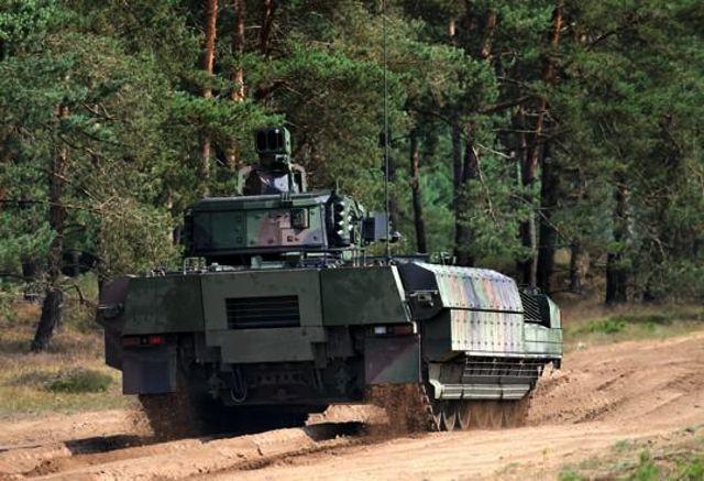 Немецкая БМП Puma - 2