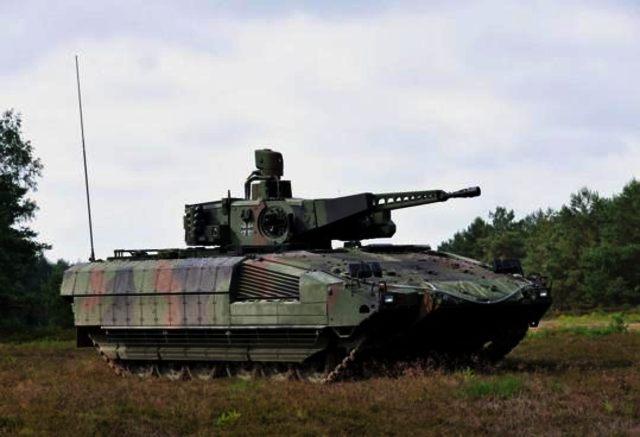 Немецкая БМП Puma