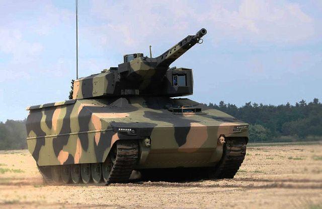 БМП Lynx компании Rheinmetall, представленная на выставке Eurosatory в Париже в 2016