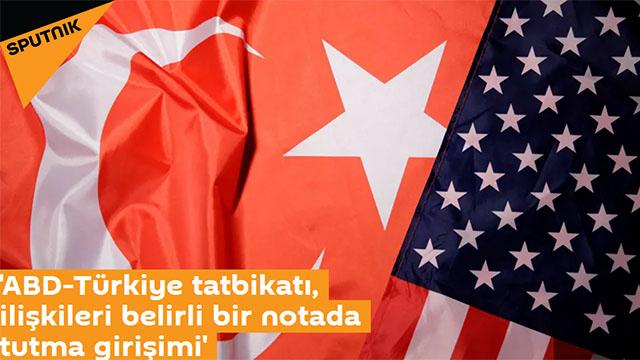 ABD-Türkiye tatbikatı, ilişkileri belirli bir notada tutma girişimi